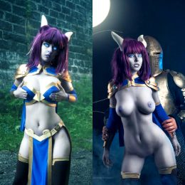 Disharmonica As Monara From World Of Warcraft NSFW