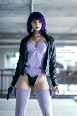 Ghost in 🔺the shell By Kanra_cosplay