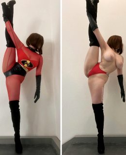 Elastigirl From The Incredibles By AngelicFuckDoll