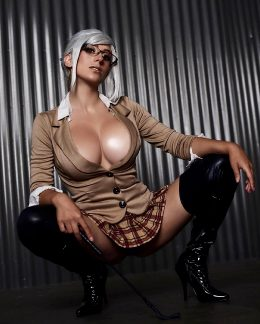 Elizabeth Rage As Meiko Shiraki From Prison School