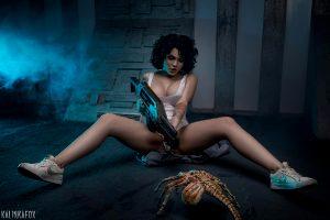 Ellen Ripley From Alien By Kalinka Fox