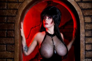Elvira From Mistress Of The Dark By Raven Widow