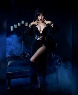 Elvira Mistress Of The Dark By Ashlynne Dae