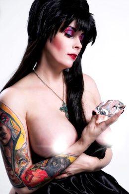 Elvira Mistress Of The Dark By Raven Widow