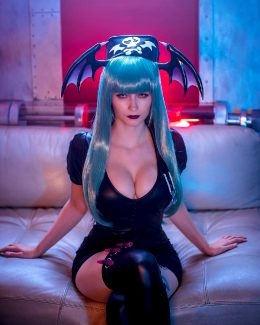 Emily Aurelia As Morrigan