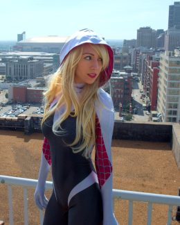 Emma Layne As Spider Gwen