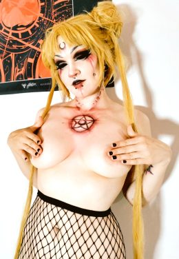 Evil Sailormoon By Oneleeter :3