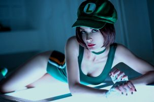 Fem Luigi From Mario By By.Yulli