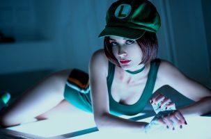 Fem Luigi From Mario By By.Yulli