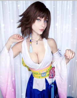 Final Fantasy Yuna By Soryu Geggy