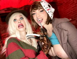 Freddy And Jason From Freddy Vs. Jason By Purple Bitch And Octokuro