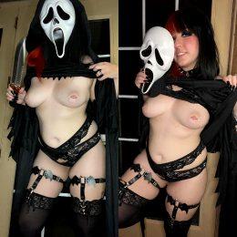 Ghost Face By Gummyghostgirl