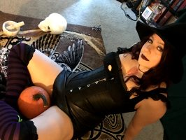 Happy Halloween :D Cute Little Witchy Woman! Tons More Cosplay, You Know Where ;)