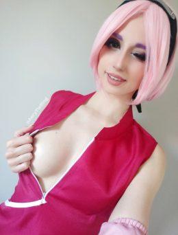 Haruno Sakura From Naruto By Aery Korvair