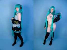 Hatsune Miku From Vocaloid By Nerafilia