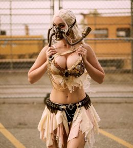 Immortan Joe From Mad Max Fury Road By Veronika Black