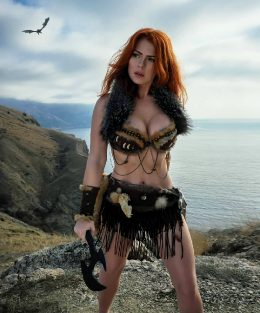 Irine Meier As ElderScrolls Viking/Barbarian