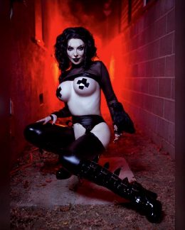 """""""It Can't Rain All The Time"""". Ashlynne Dae As The Crow."""