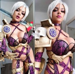 Ivy Valentine From Soul Calibur By Lucidbelle