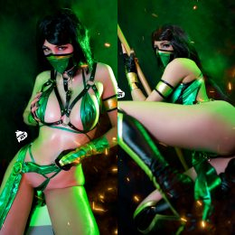 Jade From Mortal Kombat By Kate Key