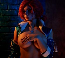 Jannet-in-Cosplay As Triss From The Witcher