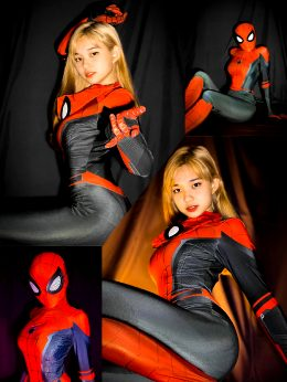 Jeila Dizon As Spiderman