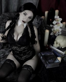 Jennifer Van Damsel As Wednesday Addams