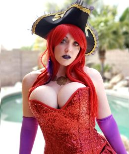 Jessica Rabbit On The High Seas By Alina Masquerade