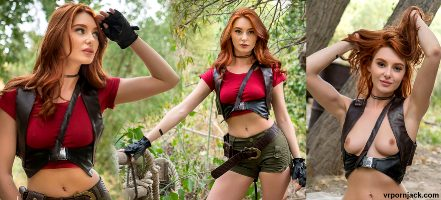 Jumanji, Ruby Roundhouse Cosplay By Lacy Lennon
