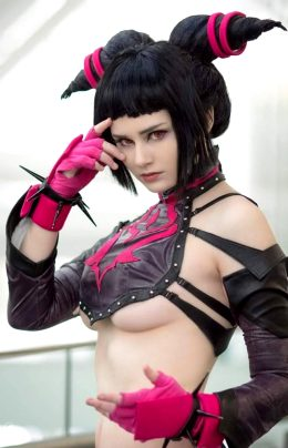 Juri Han From Street Fighter By Tasha Leigh Cosplay