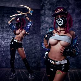 Kalinka Fox As KDA Akali.