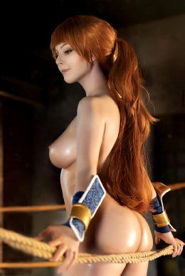 Kasumi Tits By Lunaraecosplay