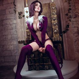 Katarina Suzu As Merlin, Seven Deadly Sins
