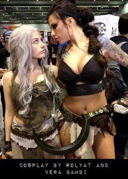 Khaleesi And Genderbend Drogo By Rolyat And Vera Bambi