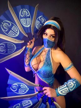 Kitana From Mortal Kombat By Tabitha Lyons