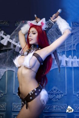 Kitty Cat Katarina By Kate Key From League Of Legends