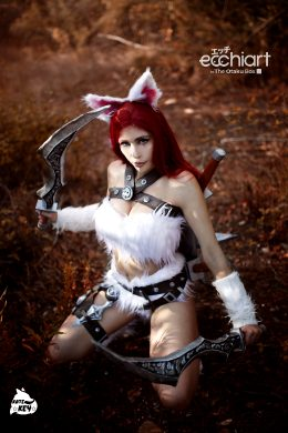 Kitty Cat Katarina By Kate Key