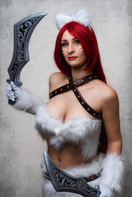 Kitty Cat Katarina From League Of Legends By Felureve