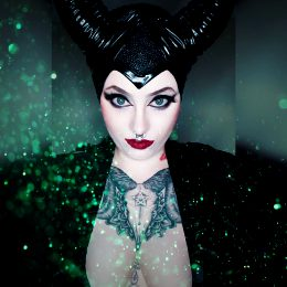 Kittycatbrat As Malificent