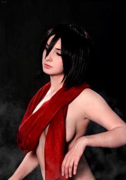Kotyashenka As Mikasa Ackerman