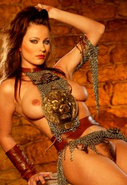 Kyla Cole As An Exposed Female Warrior