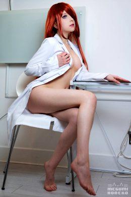 Lab Coats Are Sexy ;P Makise Kurisu By Megumi Koneko