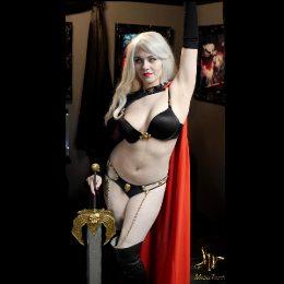 Lady Death By Sapphire Nova