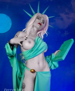 "Lady Death ""Liberty Or Death"" By Ferryn"