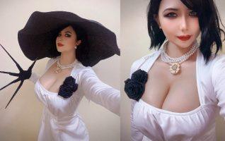 Lady Dimitrescu Cosplay By UyUy