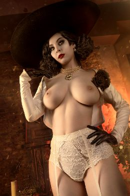 Lady Dimitrescu From Resident Evil By Helly Valentine