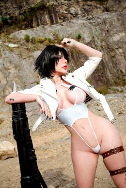 Lady From Devil May Cry By Giu Hellsing