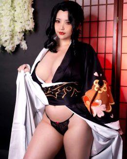 Lady Muzan From Demon Slayer By Hana Bunny