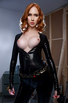 Lenina Crowne As Black Widow