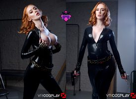Lenina Crowne As The Black Widow – VR Cosplay